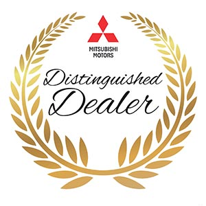 Mitsubishi Distinguished Dealer Award