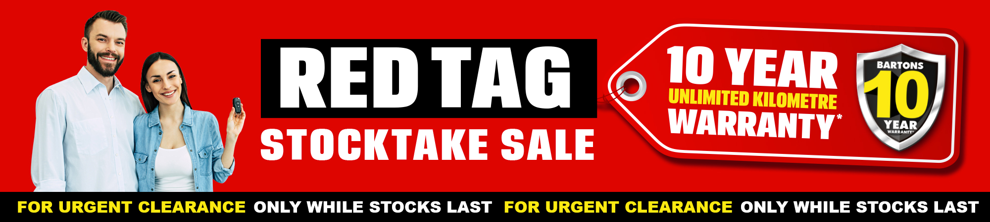 Top Banner - Red Tag Sale